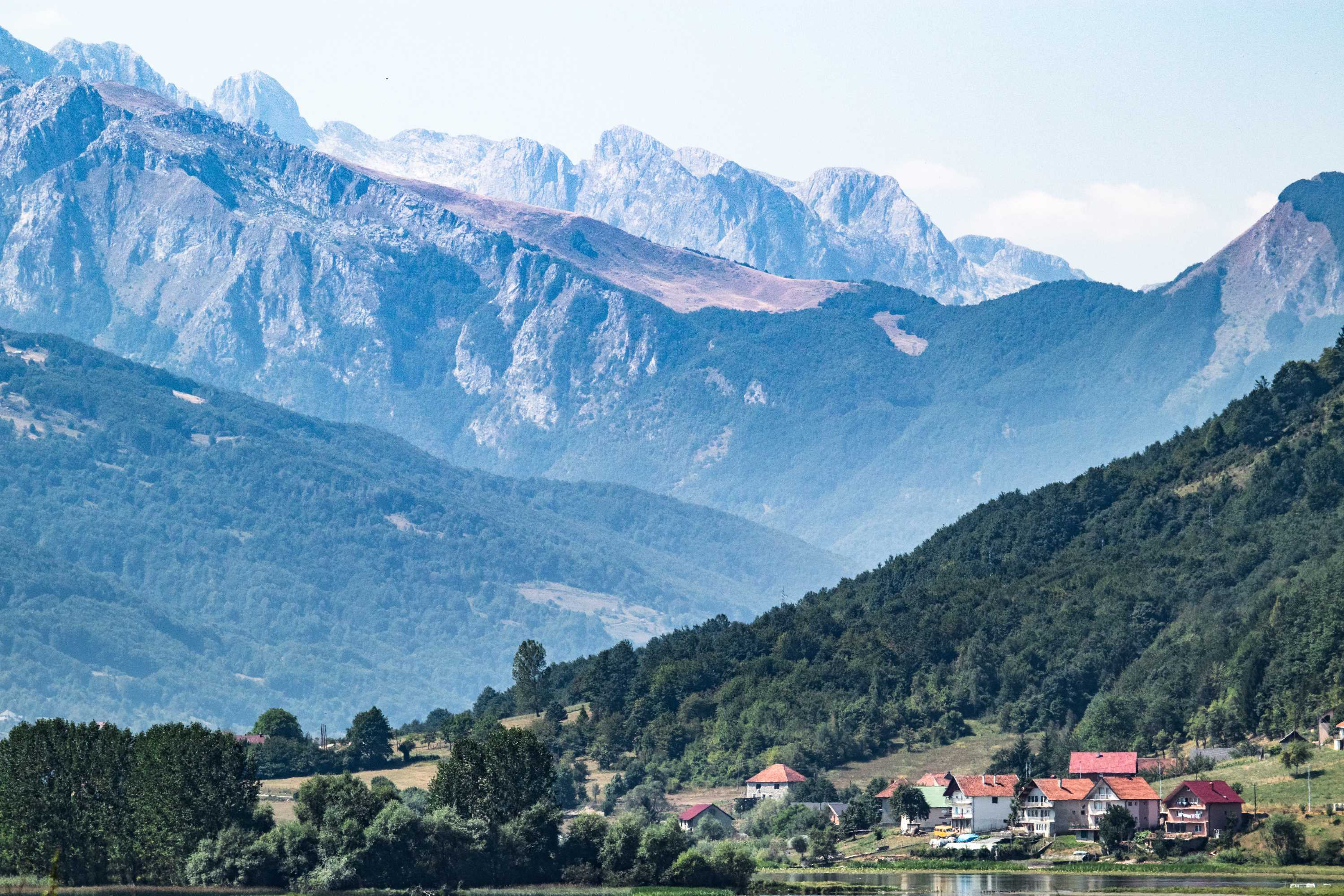 In the foothills of Montenegro's dramatic mountains